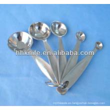Cuchara medidora de acero inoxidable de 5 piezas