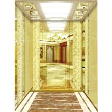 Personenlift Lift Spiegel geätzt Mr & Mrl Aksen Ty-K206