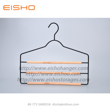 EISHO Space Saving - Colgador multi para ropa, 3 barras
