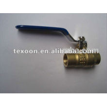 forged full port brass solder ball valve in China