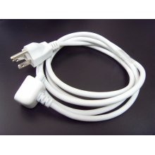 Cabo de extensão AC Genuine Cable Plug Us para Apple Mac Book PRO Power Adapter