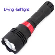 10W Tauchen Taschenlampe Wasser Beweis High Power Taschenlampe Tauchen Fackel