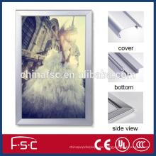 Kunststoff Werbung Rahmen führte Aluminium slim Lichtkasten