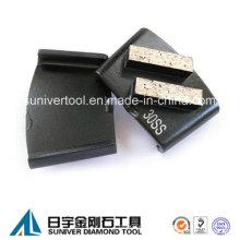 HTC Diamond planta China hormigón pulido mármol / granito del segmento