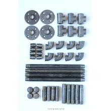 Raccords de tuyaux en fer malléables