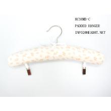 Baumwolle gepolstert Adult Clip Kleiderbügel