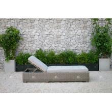 ALAND COLLECTION - Neues Design PE Wicker Rattan Outdoor Doppel-Schlafsack