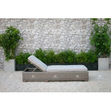 ALAND COLLECTION - New design PE Wicker rattan outdoor double daybed