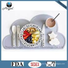 BPA libera el cojín del cojín de la estera de tabla del silicón para los niños Sm08 de los niños