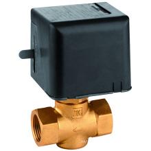 brass motorized valve