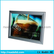 Nouvelle boîte à lumière mince de cadre d'affiche de LED