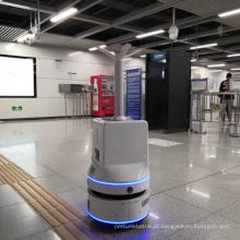 Robô de desinfecção de pulverizador de névoa inteligente