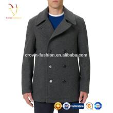 Мужские зимние Ветрозащитный шерстяное пальто куртка