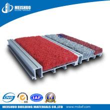Alfombrillas empotradas de aluminio para el control del polvo