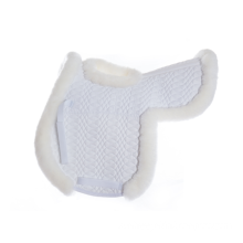Pretty Sheepskin Saddle Pads Blanket with Hole