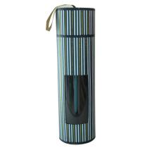Nueva caja de regalo del tubo del papel del diseño con la ventana
