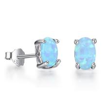 Opal Earring Hot Sale Popular jewelry Opal Stone Earrings for Girl