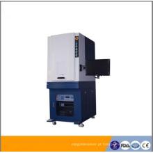 Sistema de marcação a laser de fibra de 20W com gabinete de proteção a laser / marcação automática a laser