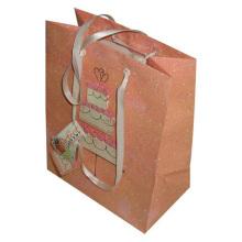 Bolsa de regalo de compras de papel para embalaje y compras