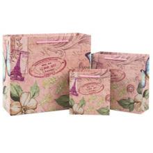 Europäische Geschenkpapierbox mit Tasche. Mode exquisite Geschenkbox.