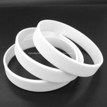 Silicone Wristband Rubber Bracelet for Party Durable