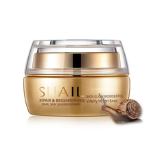 Snail Cream Skin Repairing Anti Aging Whitening Snail 24K Gold Beauty Cream Repair Whitening Face Cream