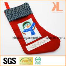 Broderie de qualité / Applique Décoration de Noël Bonhomme de neige dans le stockage de fenêtre
