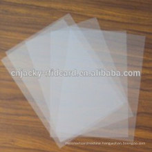 A4 Chinese Manufacturer Inkjet PVC Transparent Shrink Clear Printing Film for Card Making