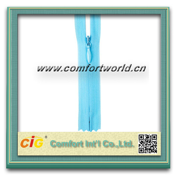 High Quality Smoothly Nylon Zipper