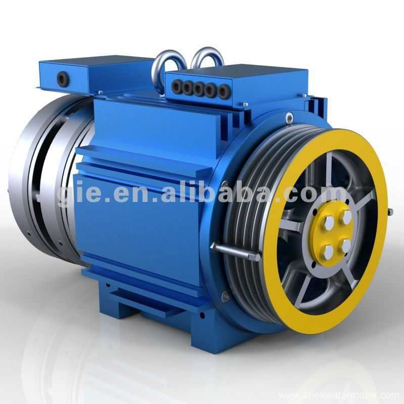 Gie Gearless Traction Machine Elevator Motor Manufacture