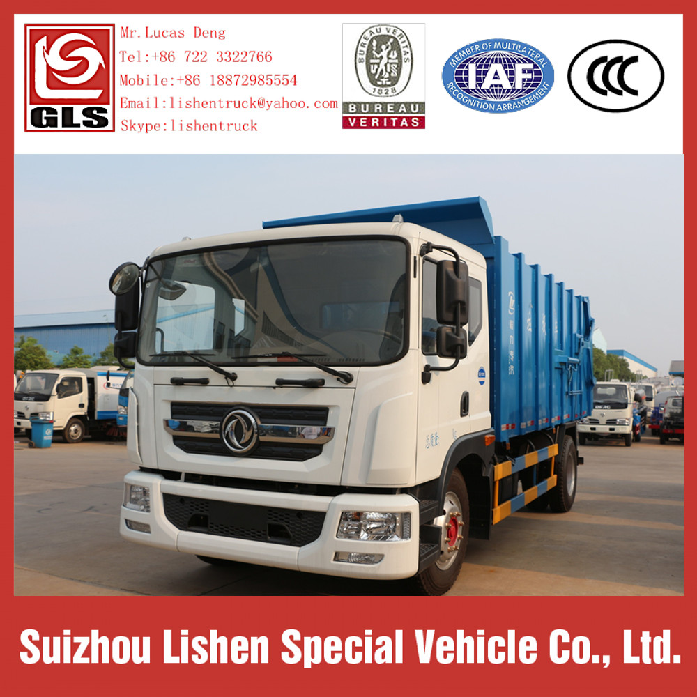 Dongfeng Garbage Trucks Compactor Vehicle