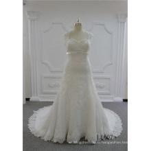 Милая Русалка Свадебные Платья Длинные Кружева Цвета Слоновой Кости Свадебное Платье
