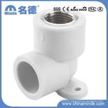 PPR Female Elbow with Disk Type B Fitting for Building Materials
