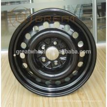 Roda de carro de alta resistência 14x5.5,15x6 para venda quente