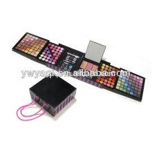 Conforman el sistema, sistema cosmético, sombra de ojos paleta, caja de plástico grande