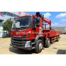 2019 DongfengM3 10Tons Telescopic Boom Truck Mounted Crane