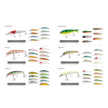 Colorful Minnow Baits