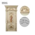 Деревянная главная дверь проектирует роскошную деревянную дверь для входной двери villia