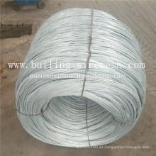 Alambre galvanizado caliente / alambre galvanizado eléctrico con Alibaba Trade Assurance