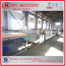 PVC plastic wood machine/WPC wood plastic board making machine