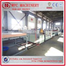 PVC máquina de madeira de plástico / placa de plástico de madeira WPC fazendo máquina