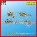 Contacteur électrique en nickel métallisé de précision et contact en laiton (HS-BC-010)