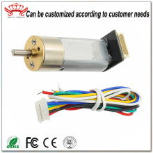 Dc Power Gear Motor con codificador