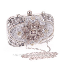 Wholesale glitter clutch bag Ladies bridesmaid bag beaded clutch bag crystal Clutch Bag DB08