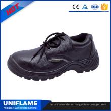 Zapatos de trabajo de seguridad de cuero de hombres Ufb011