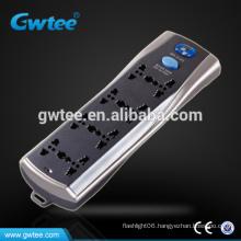 universal multi plug extension socket set