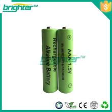 Alemania 1.5v aa batería recargable para la afeitadora