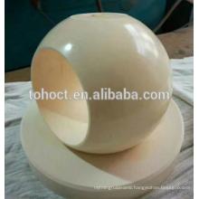 Toho best selling Ceramic ball valve spherical valve