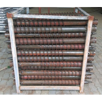 HDG Nut Ground Screw Pile