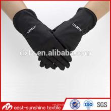 Guantes mágicos guantes de microfibra, logotipo personalizado impreso microfibra guantes de limpieza de joyería